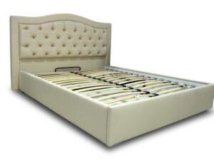 """Двуспальная кровать """"Квин"""" с подъемным механизмом 180*200"""