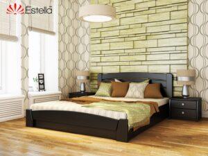 Деревянная кровать из бука СЕЛЕНА  Аури ТМ Эстелла