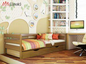 Деревянная кровать НОТА ТМ Эстелла 80×190/200 см