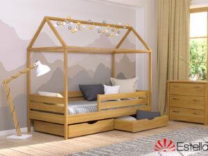 Деревянная кровать АММИ ТМ Эстелла 80×190 см