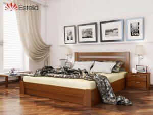 Деревянная кровать из бука СЕЛЕНА ТМ Эстелла