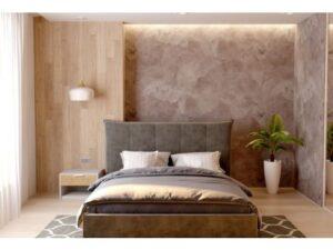Двуспальная кровать Мисти с подъемным механизмом