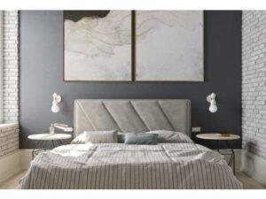 Двуспальная кровать Клио с подъемным механизмом